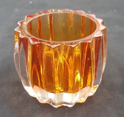 Waxinelicht houder Oranje