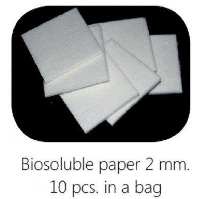 Biosoluble fibre paper 2mm 48x48mm