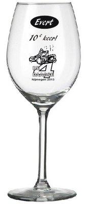 4-daagse wijnglas