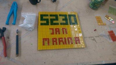 ACTIE! Workshop Mozaiek voor maar € 19,- met Bon