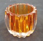 Waxinelicht-houder-Oranje