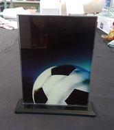 Glazen-standaard-voetbal