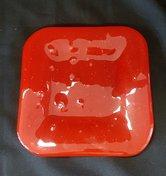 Schaal-rood