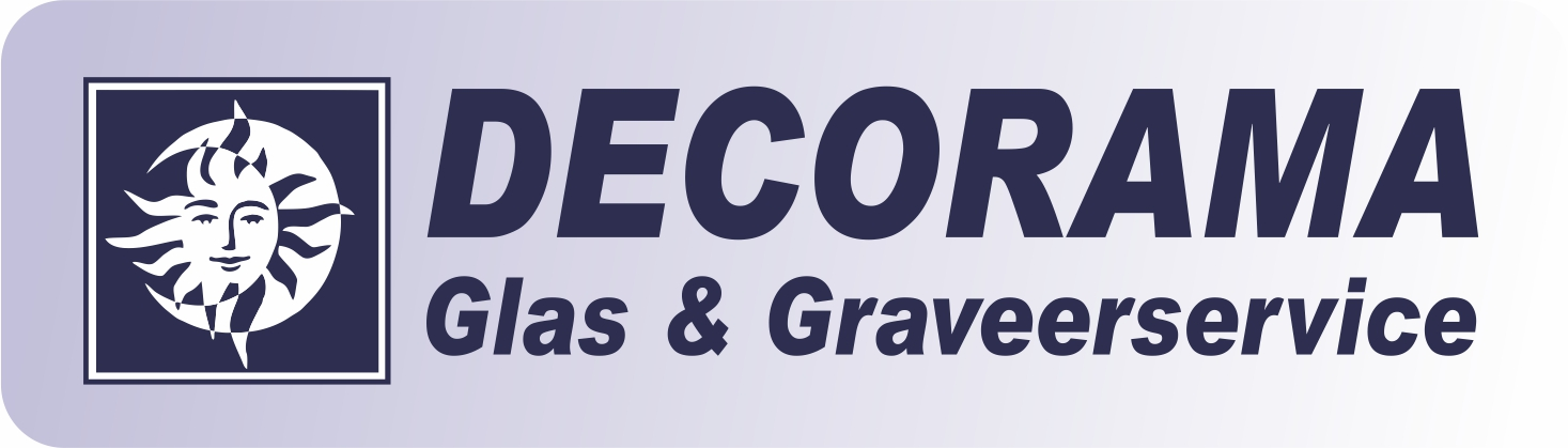 Logo Decorama Glas & Graveeratelier