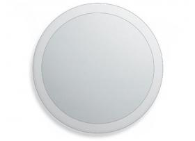 Spiegel 60 cm diameter met facetrand
