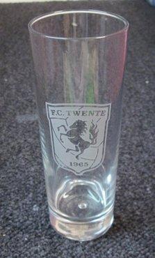 Longdrinkglas met logo