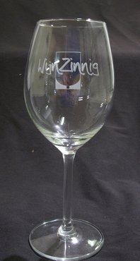 Wijnglas met eigen logo