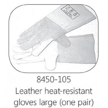 Lederen ovenhandschoen Large(10) per 2 stuks