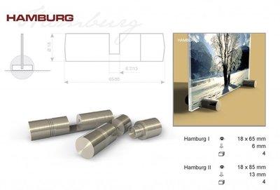 RVS afstandhouder Hamburg 3-6 mm