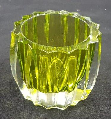 Waxinelicht houder Groen