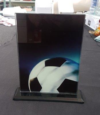 Glazen standaard voetbal