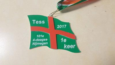 4-daagse vlag als hanger